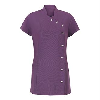Image of Easy care wrap beauty tunic