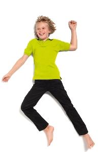 Image of Kids Poly Cotton Polo Shirt