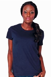 An image of Heavy cotton women's t-shirt