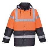 An image of Hi-vis traffic jacket (S466/S467)