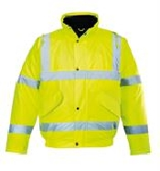 An image of Hivis bomber jacket