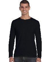 An image of Semi-fitted Adult Long Sleeve T-Shirt
