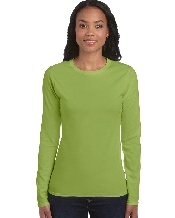 An image of Ladies' Long Sleeve T-Shirt