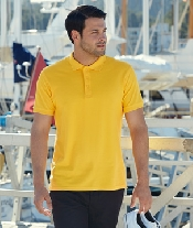 An image of Mens Premium Polo Shirt
