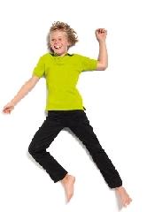 An image of Kids Poly Cotton Polo Shirt