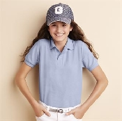 An image of Kids Dryblend Double Pique Sport Polo