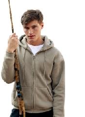 An image of Zip Through Hooded Sweatshirt