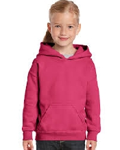 An image of Classic Fit Youth Hooded Sweatshirt