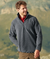 An image of HALF ZIP FLEECE